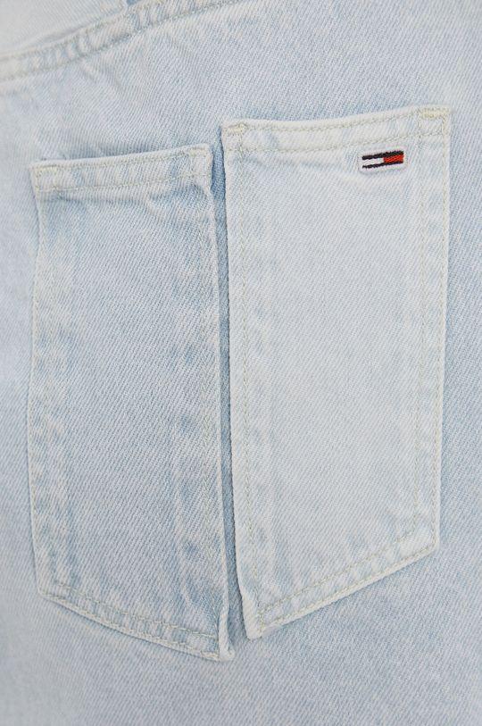 Tommy Jeans - Bavlněná džínová sukně