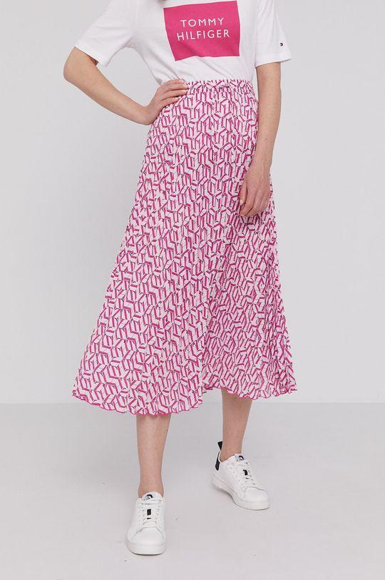 różowy Tommy Hilfiger - Spódnica Damski