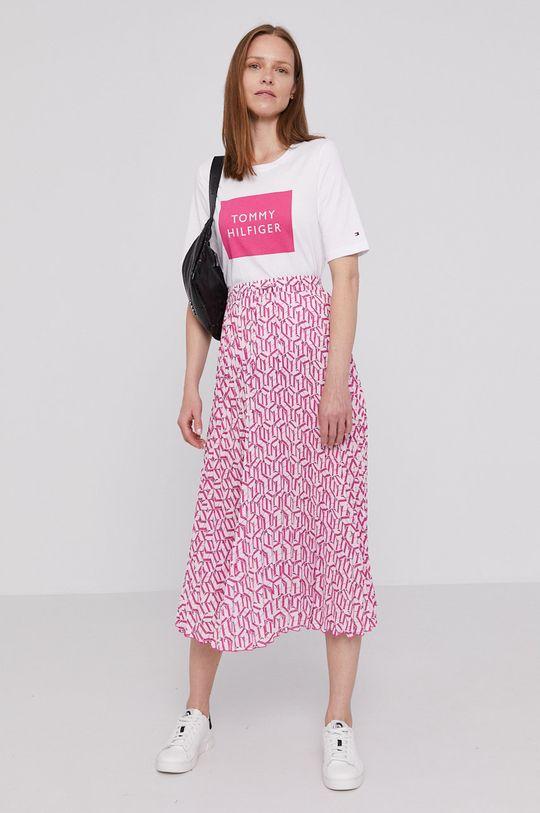 Tommy Hilfiger - Spódnica różowy
