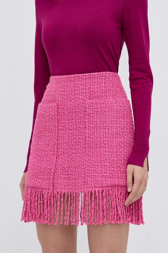 ostry różowy Pinko - Spódnica Damski