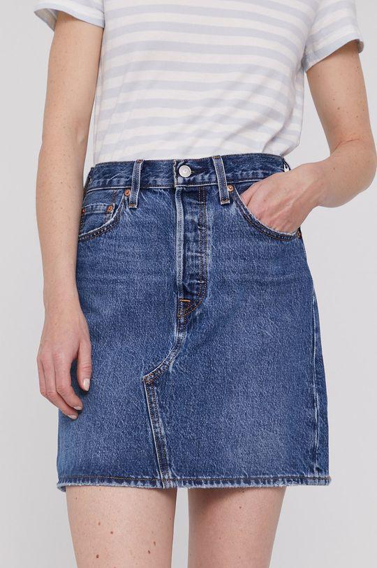 niebieski Levi's - Spódnica jeansowa Damski