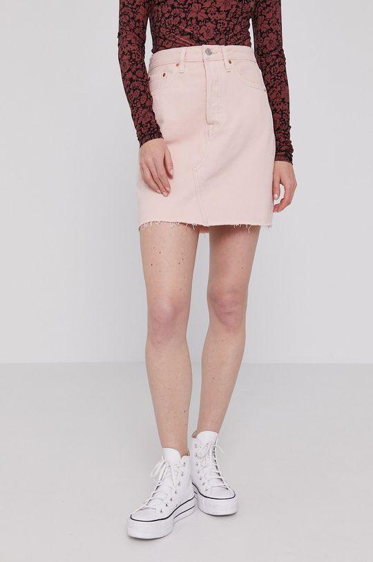 różowy Levi's - Spódnica jeansowa Damski