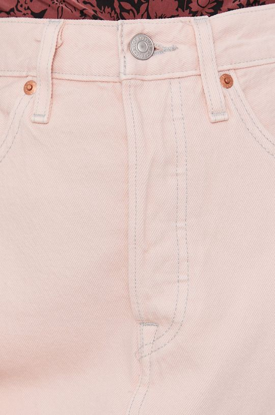 różowy Levi's - Spódnica jeansowa