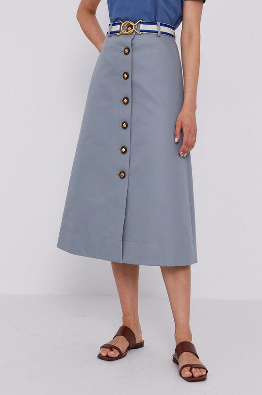 stalowy niebieski Tory Burch - Spódnica Damski
