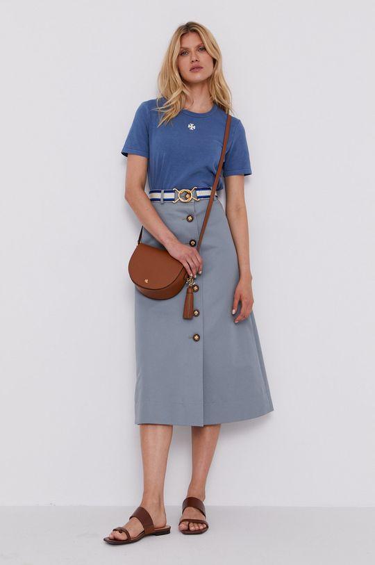 Tory Burch - Spódnica stalowy niebieski