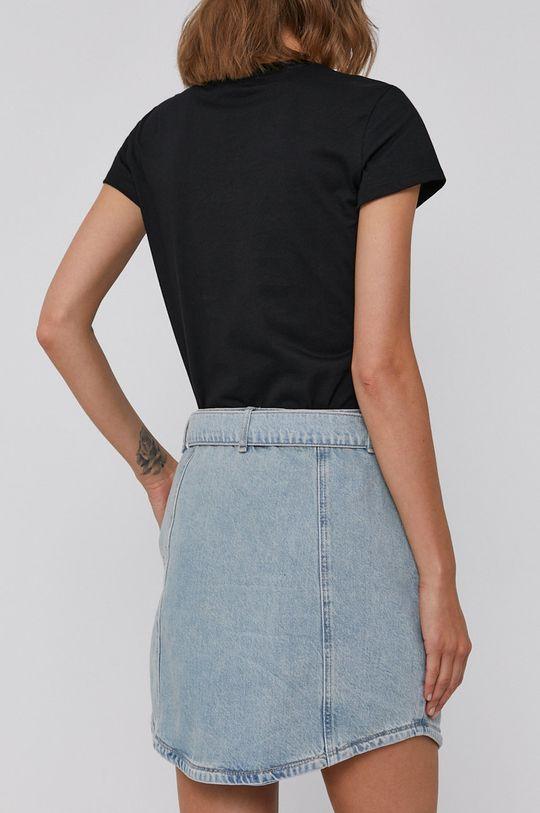 Armani Exchange - Spódnica jeansowa niebieski