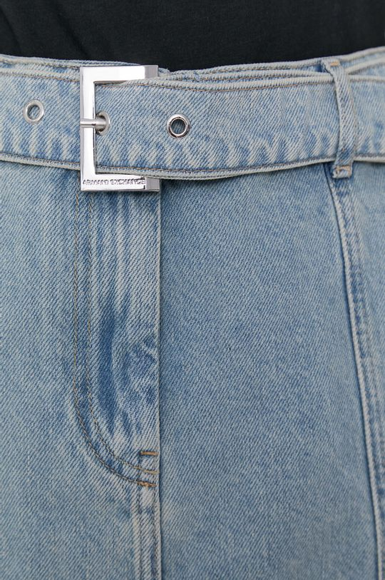 niebieski Armani Exchange - Spódnica jeansowa