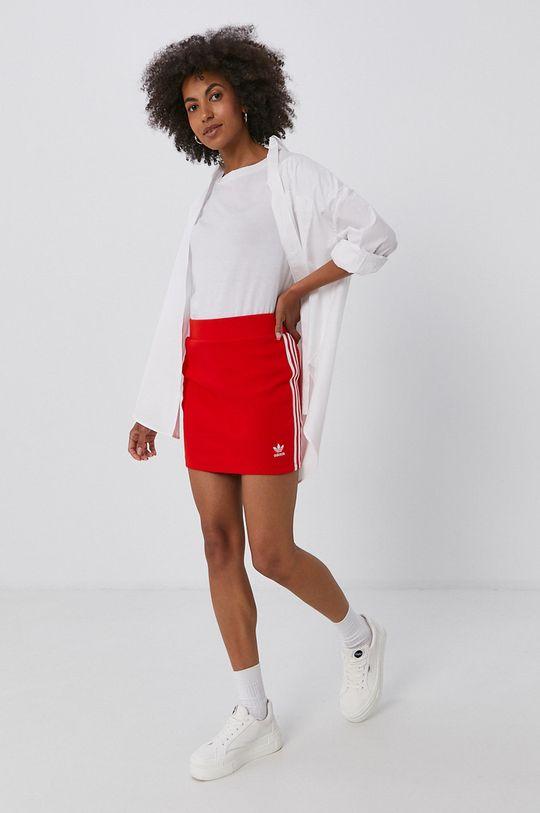 adidas Originals - Spódnica czerwony