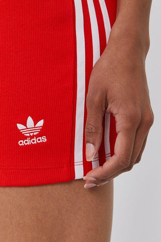 czerwony adidas Originals - Spódnica