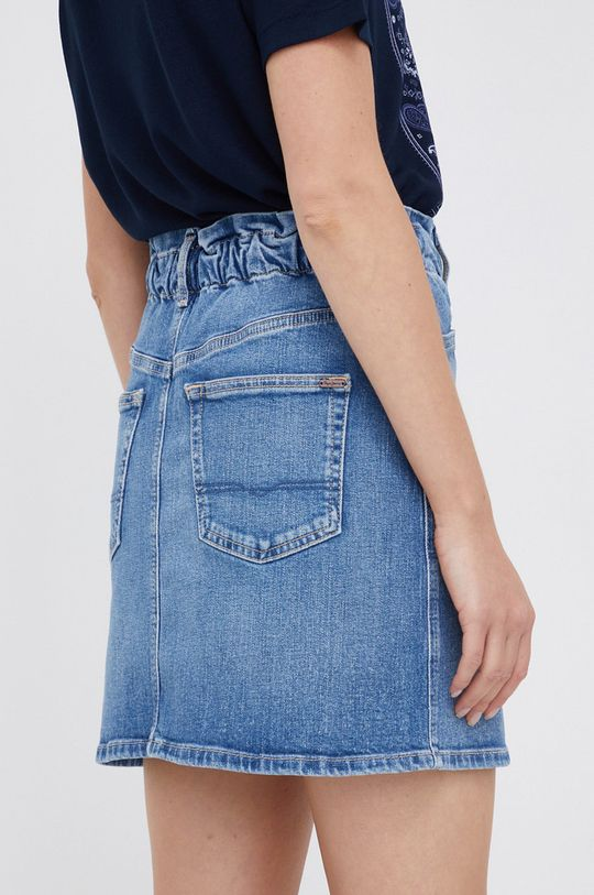 Pepe Jeans - Spódnica Maisie Materiał zasadniczy: 99 % Bawełna, 1 % Elastan, Inne materiały: 35 % Bawełna, 65 % Poliester