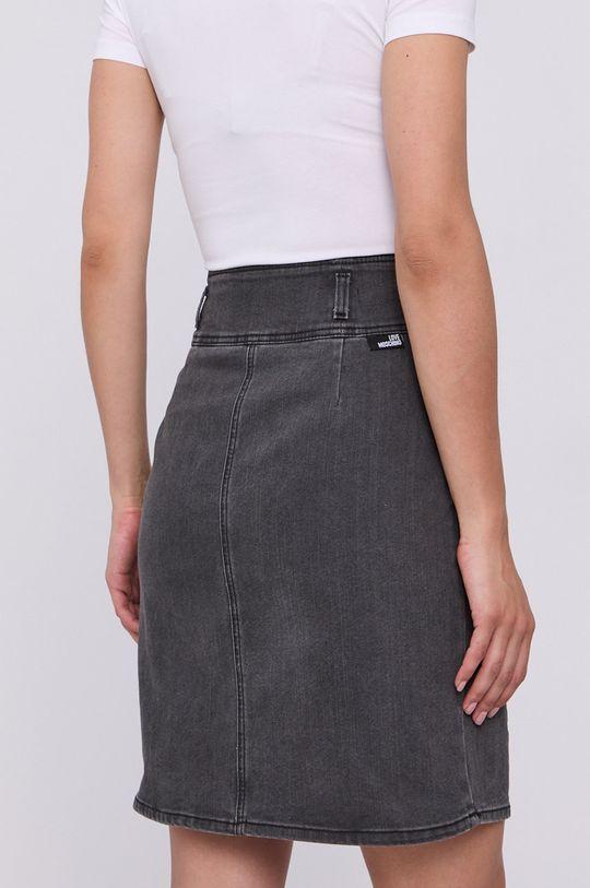 Love Moschino - Spódnica jeansowa 75 % Bawełna, 1 % Elastan, 24 % Poliester