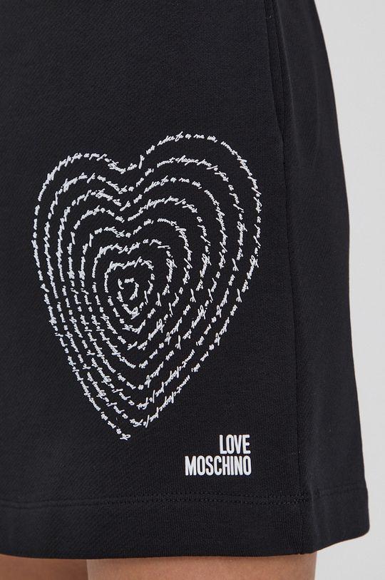 czarny Love Moschino - Spódnica
