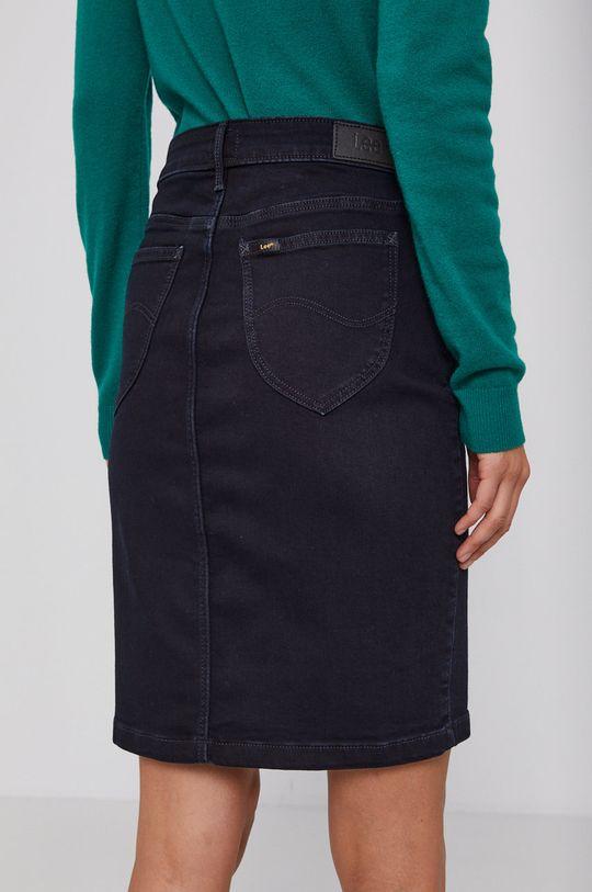 Lee - Fusta jeans  92% Bumbac, 1% Elastan, 7% Elastomultiester