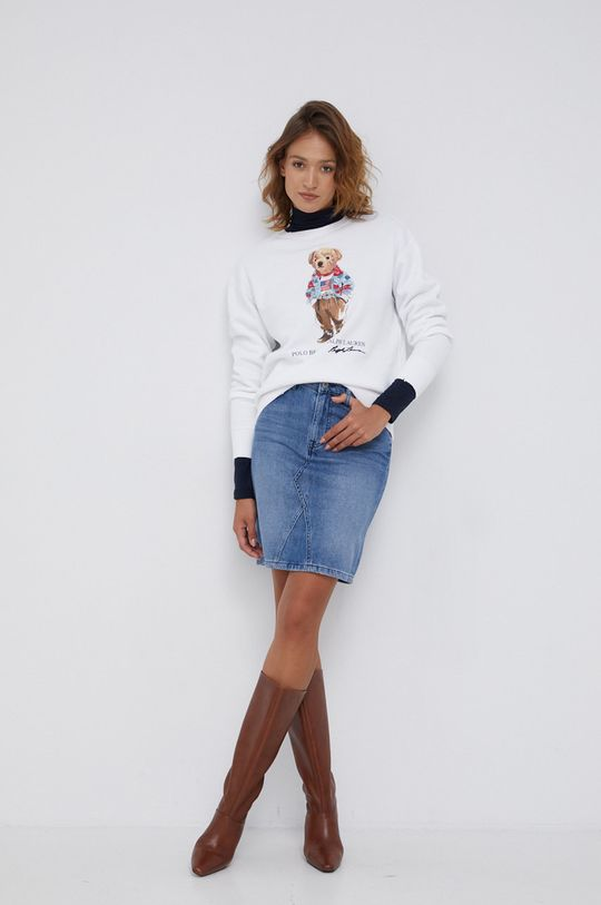 Mustang - Spódnica jeansowa niebieski