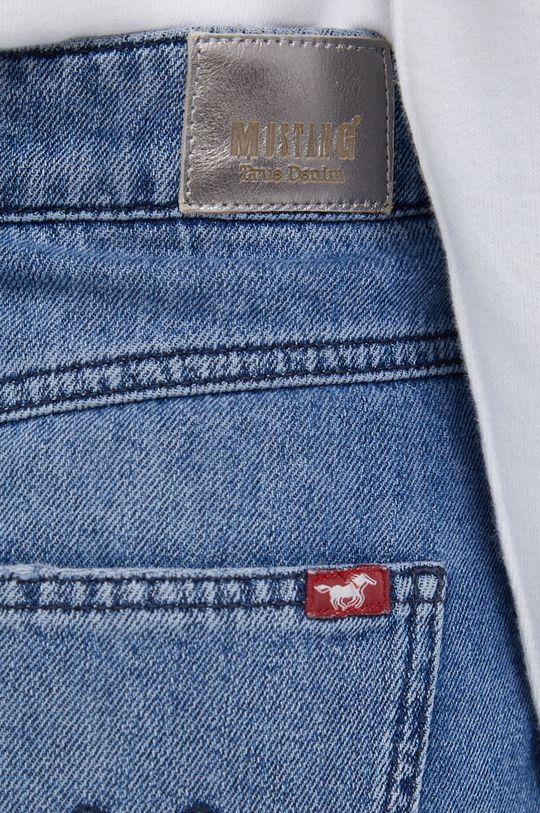 niebieski Mustang - Spódnica jeansowa