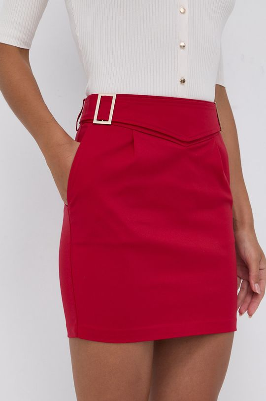ostry czerwony Morgan - Spódnica Damski