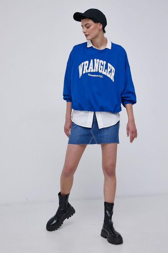 Roxy - Spódnica jeansowa niebieski