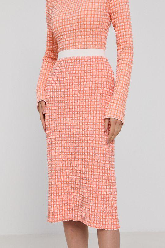 pomarańczowy Victoria Victoria Beckham - Spódnica Damski