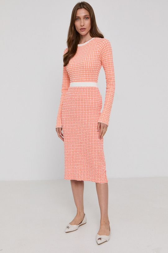 Victoria Victoria Beckham - Spódnica pomarańczowy