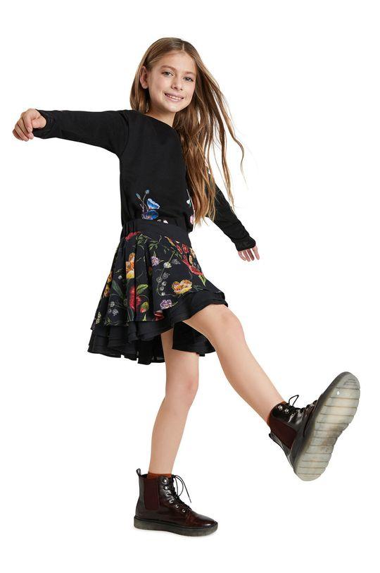 czarny Desigual - Spódnica dziecięca Dziewczęcy
