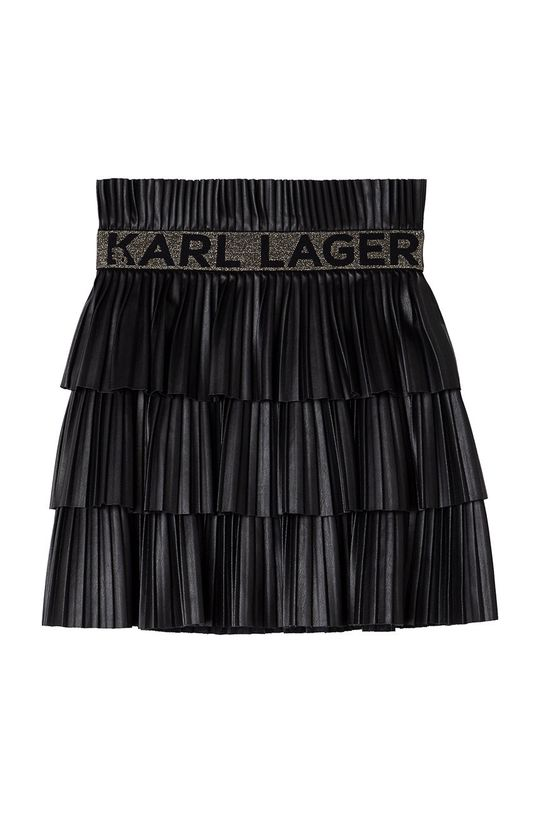 Karl Lagerfeld - Dievčenská sukňa čierna