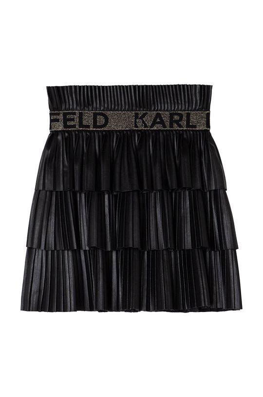 Karl Lagerfeld - Fusta fete  Captuseala: 100% Viscoza Materialul de baza: 100% Poliester