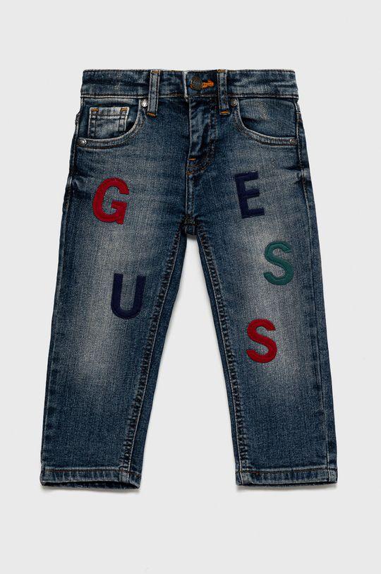 niebieski Guess - Jeansy dziecięce Chłopięcy