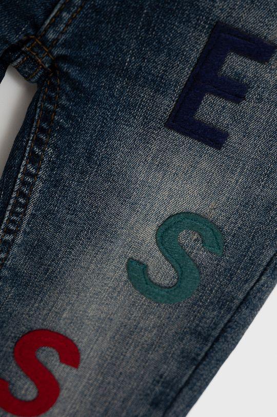 Guess - Jeansy dziecięce niebieski