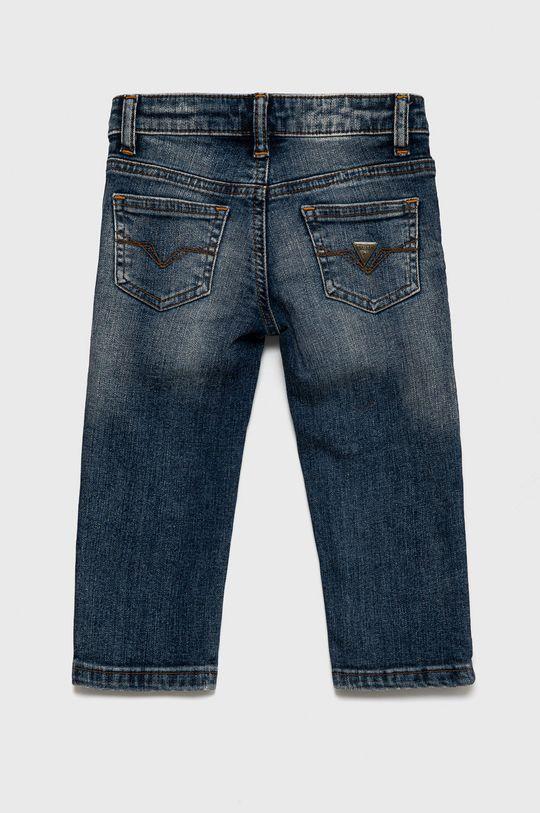 Guess - Jeansy dziecięce Materiał zasadniczy: 99 % Bawełna, 1 % Elastan, Podszewka kieszeni: 48 % Bawełna, 52 % Poliester