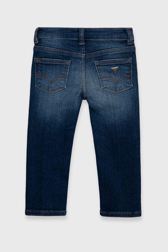Guess - Jeans copii  Captuseala: 35% Bumbac, 65% Poliester  Materialul de baza: 83% Bumbac, 4% Elastan, 12% Modal, 1% Spandex