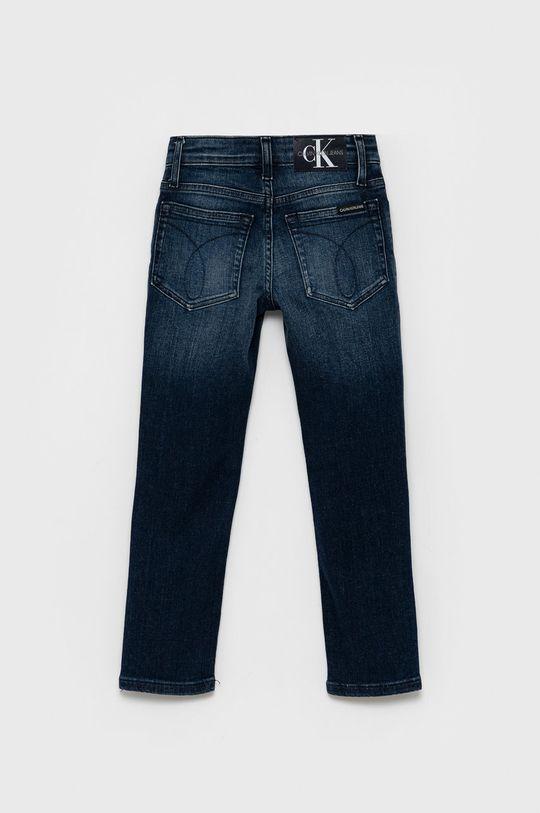 Calvin Klein Jeans - Jeansy dziecięce granatowy