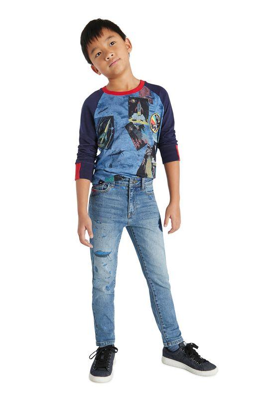 jasny niebieski Desigual - Jeansy dziecięce Chłopięcy