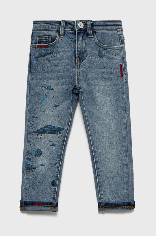 Desigual - Jeansy dziecięce jasny niebieski