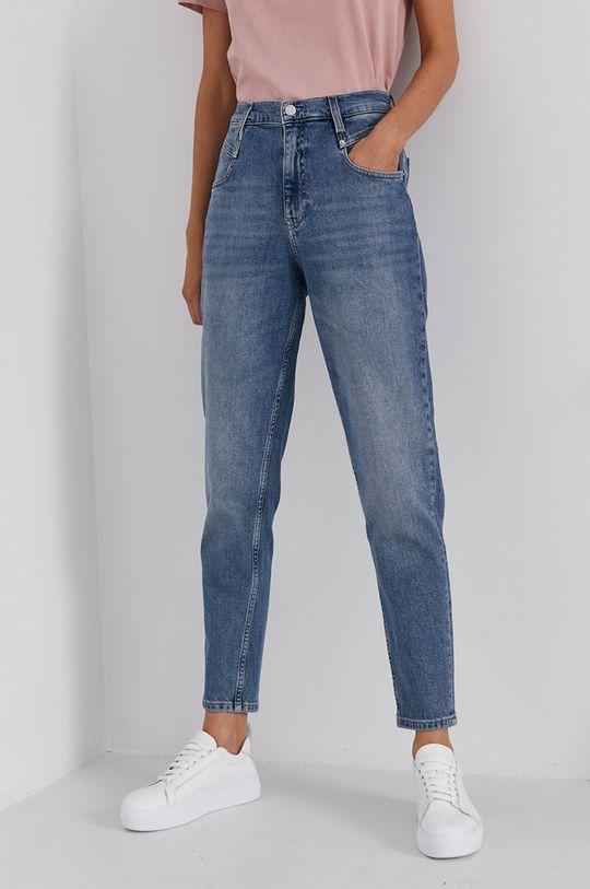 modrá Calvin Klein Jeans - Džíny Mom Jean Dámský