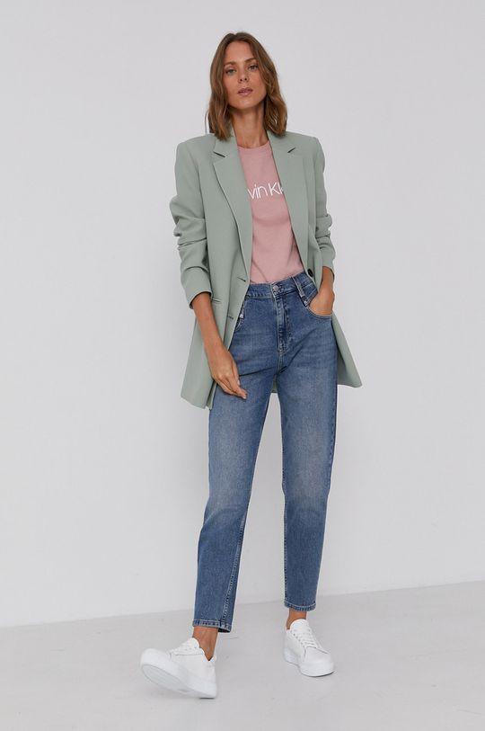 Calvin Klein Jeans - Džíny Mom Jean modrá