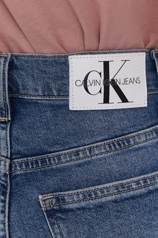 modrá Calvin Klein Jeans - Džíny Mom Jean
