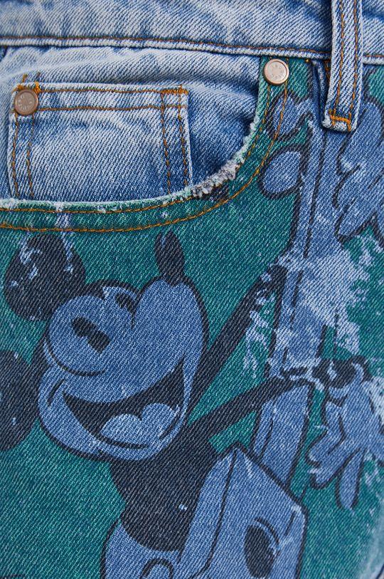albastru Desigual - Jeansi x Disney