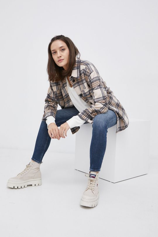 Tommy Jeans - Jeansy Shape granatowy