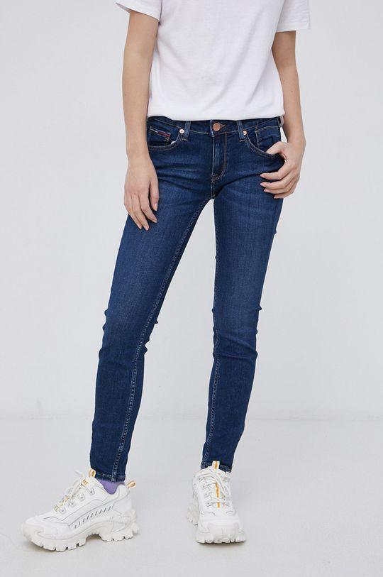 granatowy Tommy Jeans - Jeansy Scarlett Damski