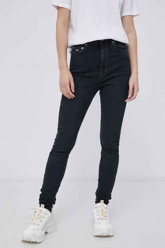 czarny Tommy Jeans - Jeansy Melany Damski