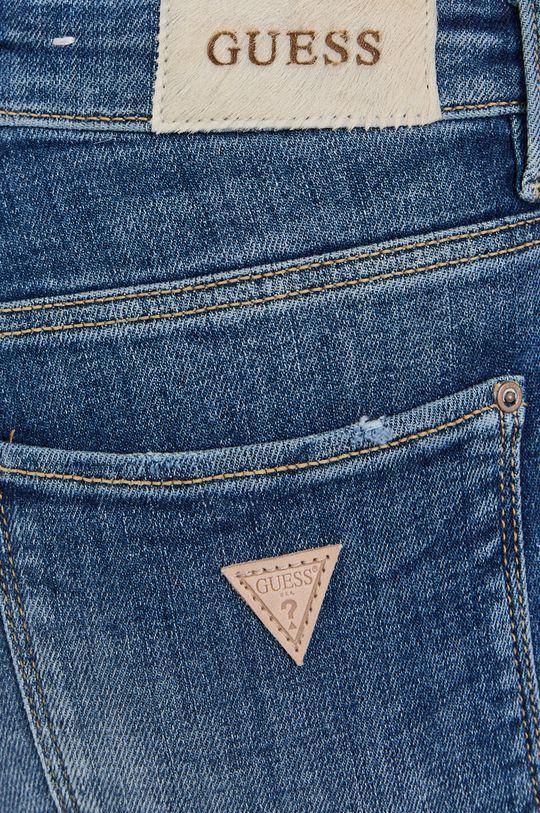 niebieski Guess - Jeansy Sexy Curve