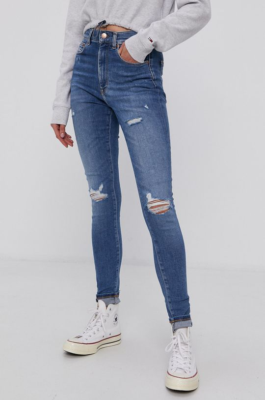 modrá Tommy Jeans - Džíny Dámský