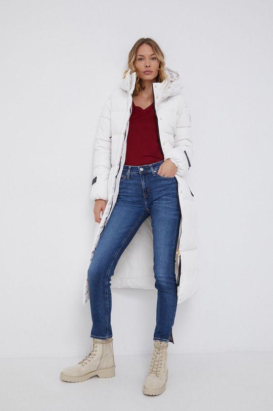 Calvin Klein Jeans - Jeansy Mid Rise Skinny Ankle niebieski