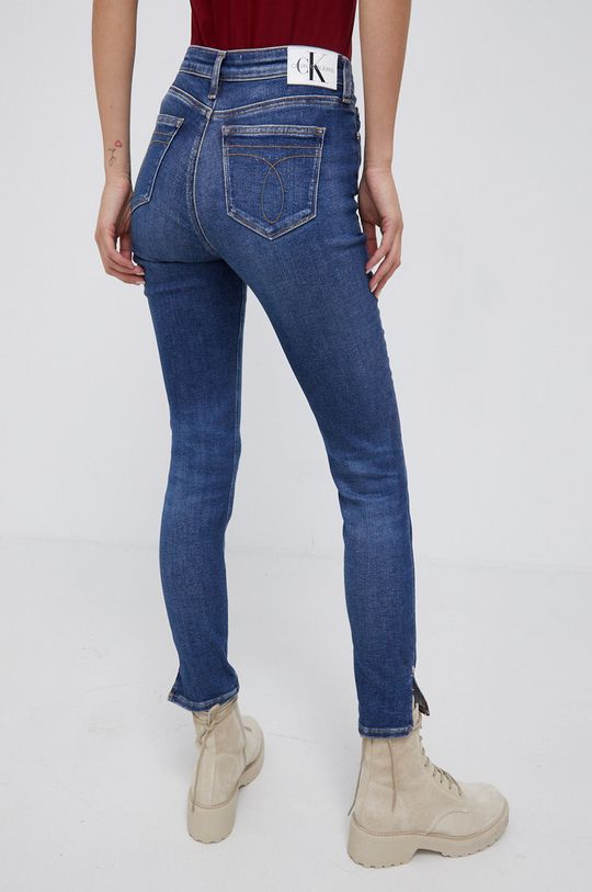 Calvin Klein Jeans - Jeansy Mid Rise Skinny Ankle 94 % Bawełna, 2 % Elastan, 4 % Elastomultiester