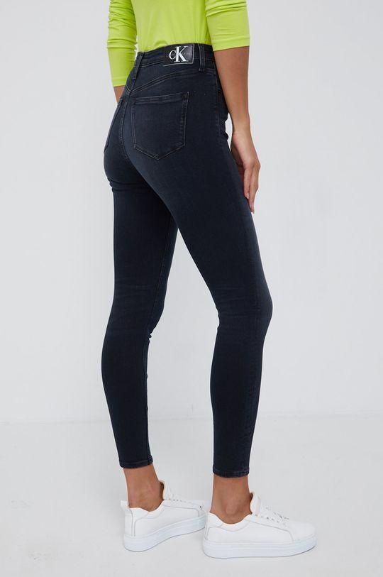 Calvin Klein Jeans - Jeansy High Rise Super Skinny Ankle 92 % Bawełna, 2 % Elastan, 6 % Elastomultiester