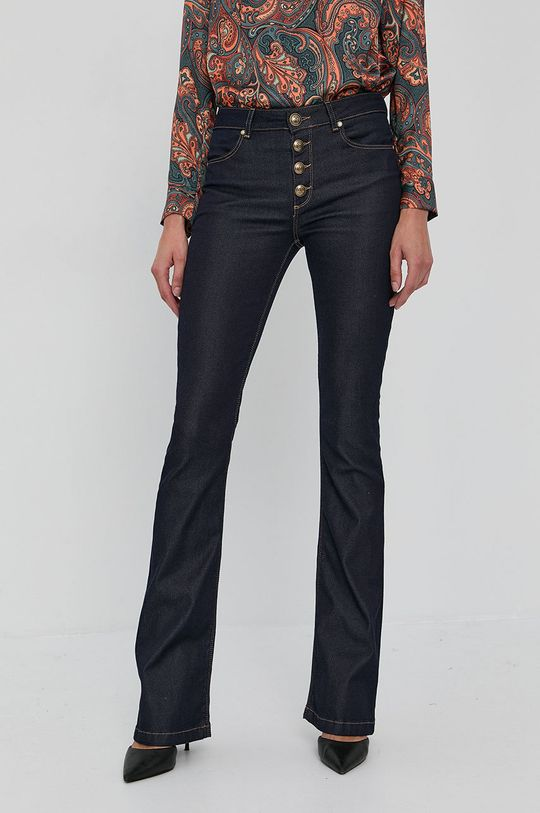 bleumarin Marciano Guess - Jeansi Mini Flare De femei
