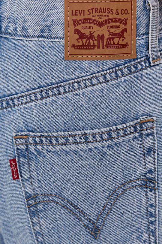 niebieski Levi's - Jeansy High-Waisted Straight