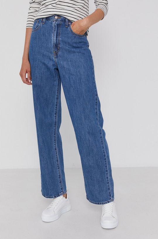 Levi's - Jeansy High-Waisted Straight niebieski