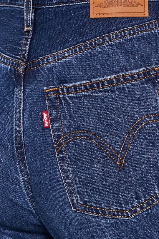 granatowy Levi's - Jeansy Ribcage Straight Ankle