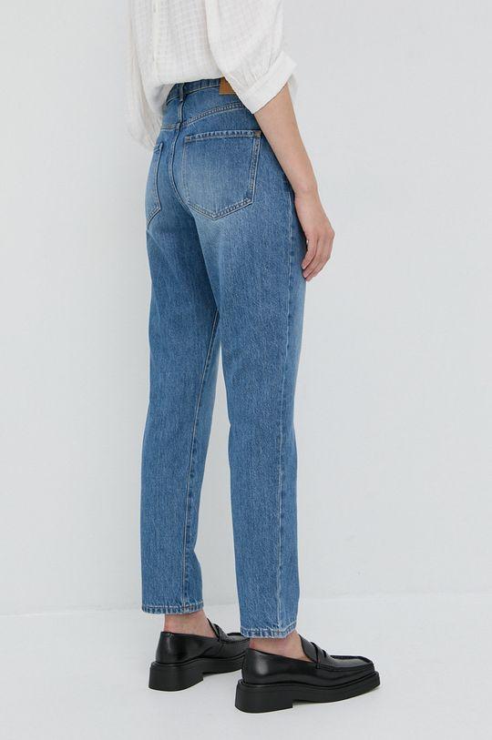 Boss - Jeansy bawełniane Straight Crop 100 % Bawełna